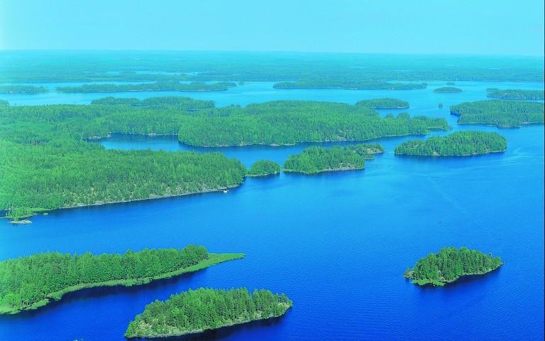 Savonlinnan Seudun Vesisto Saimaan Jarviluontoa Puhtaimmillaan