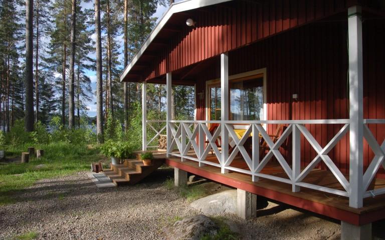 Loikansaari – Ferienhaus MÄNNIKKÖ