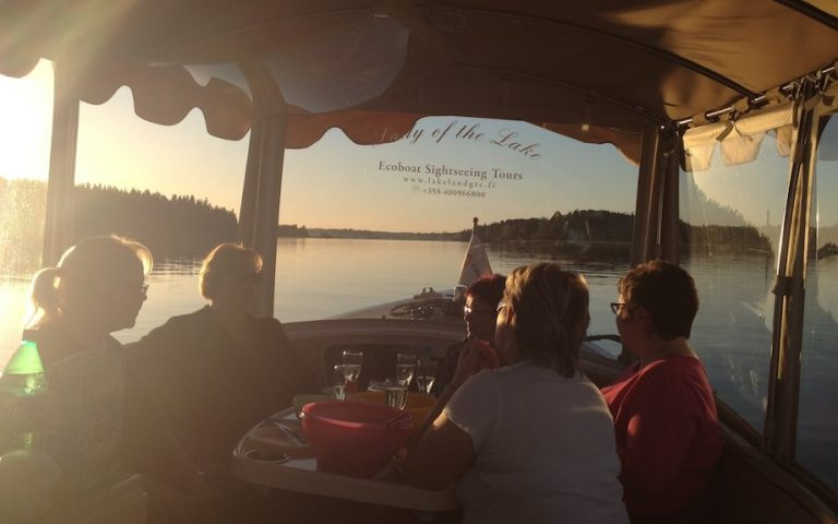 Saimaa seal watching tour by Ecoboat