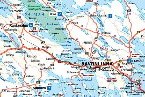 Saapuminen Talvilomakohteisiin Visit Savonlinna