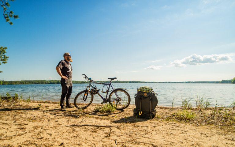 Retkipaikka: Pyöräilemässä Punkaharjulla