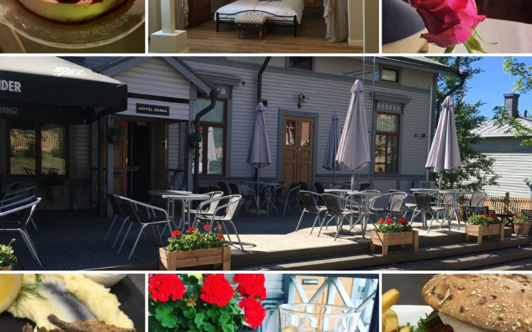 Kahvila-Ravintola & Hotelli Saima