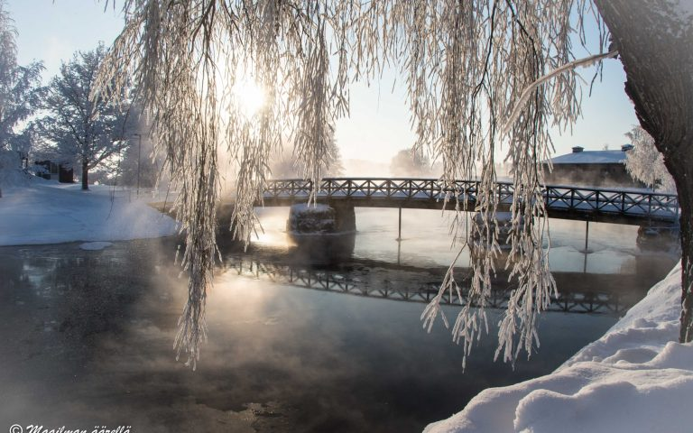 Maailman äärellä -blogi | Savonlinna, lumoava talvikaupunki
