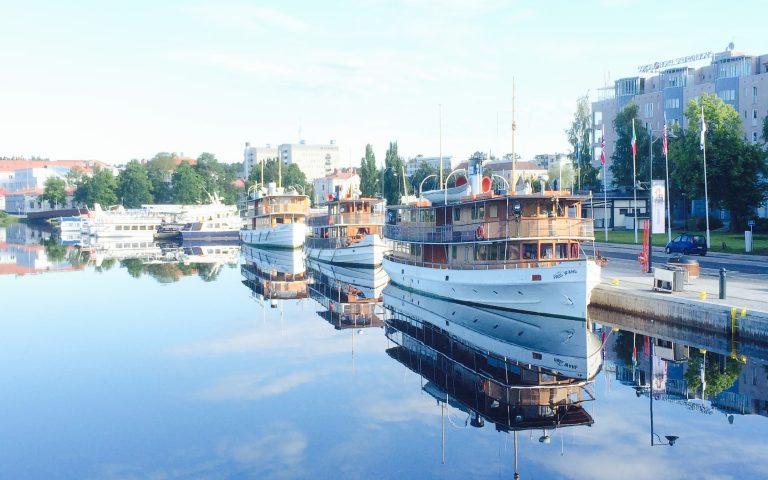 Dampfschiff – Linienverkehr Savonlinna – Punkaharju / 2019