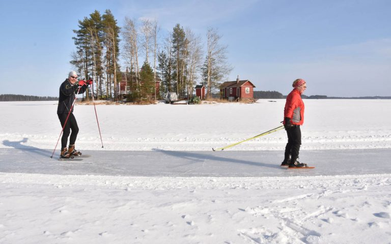 2 nights Skate & Stay-package in Punkaharju