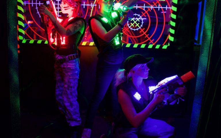 MEGAZONE -laserpeli