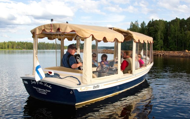 Sightseeing cruises by ecoboat