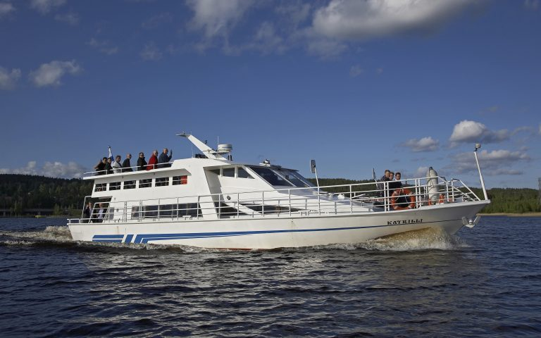 Sightseeing cruise from Järvisydän on Lake Saimaa Tue, Thu, Sat 15.6.-13.8.2019