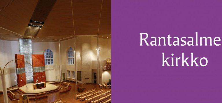 Rantasalmen kirkko avoinna vierailijoille päivittäin klo 11-18