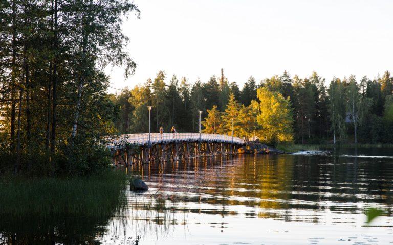 Sulosaari | Kalliolinna | virkistysalue Savonlinnan keskustassa