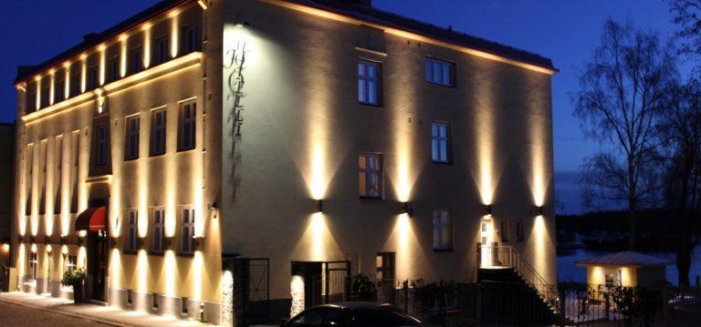 Wanhan Savonlinnan joulunavaus Hotelli Hospitzissa
