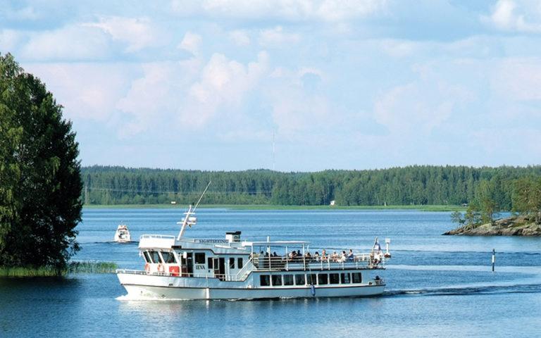 Sightseeing cruise around Savonlinna with M/S Ieva