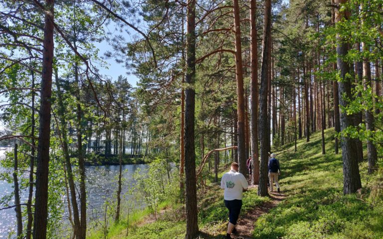 Walking trails in Hytermä
