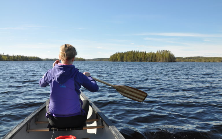 XStreams – guided canotrip on the Ulpukkatrail