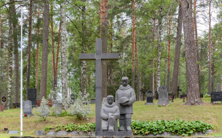 Kerimäen hautausmaat