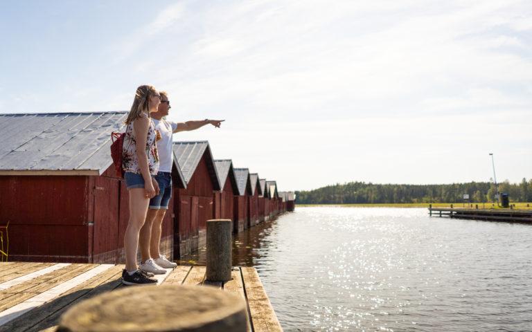 Kerimäen Kirkkoranta | Uimaranta ja vierasvenesatama