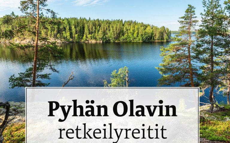 Pyhän Olavin retkeilyreitit -kirja