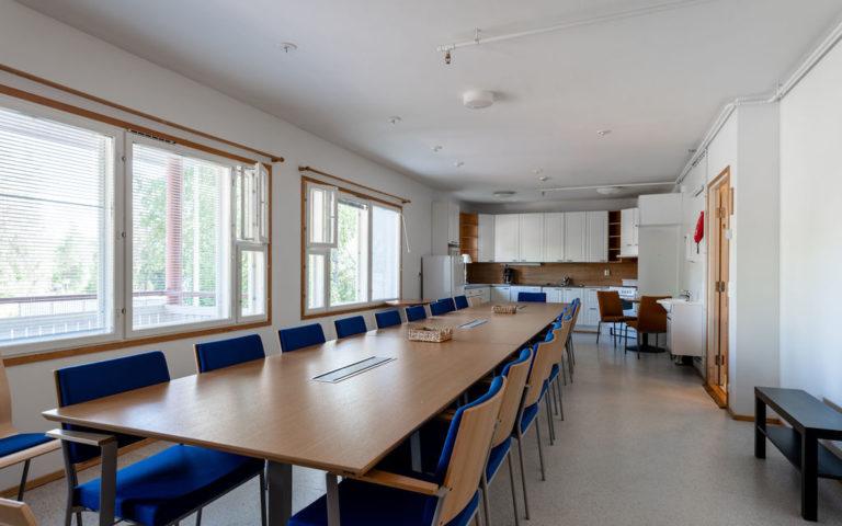 Kolovesi | Kabinetti ja saunatilat |  KORPI Guesthouse | Enonkoski