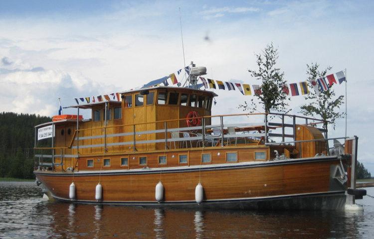 M/S Kaesa charter cruises