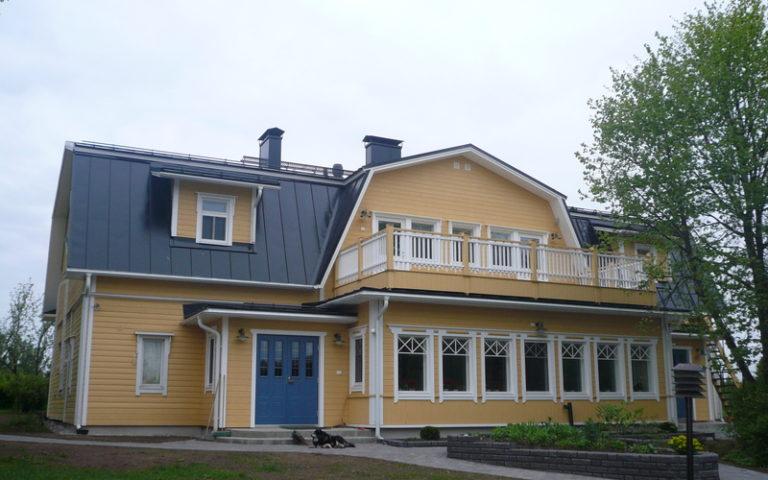 Lomamokkila — Главное здание