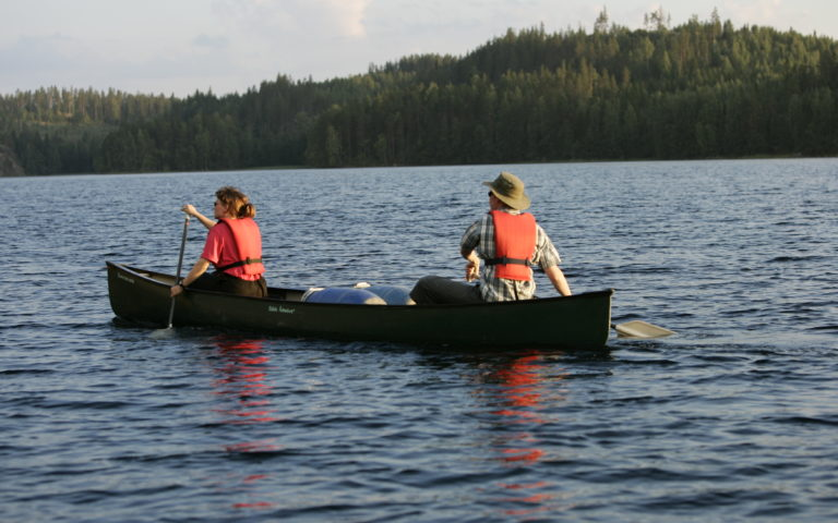 Self Guided Paddling Excursion in Kolovesi and Linnansaari National Parks